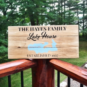 Lakehouse Signs