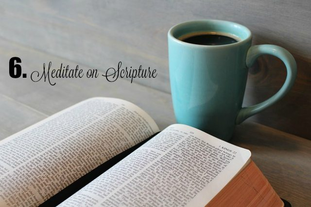 PH meditate on scripture