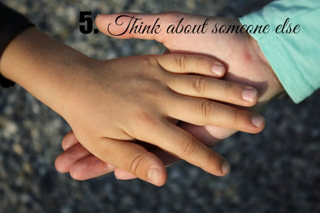 PH think about someone
