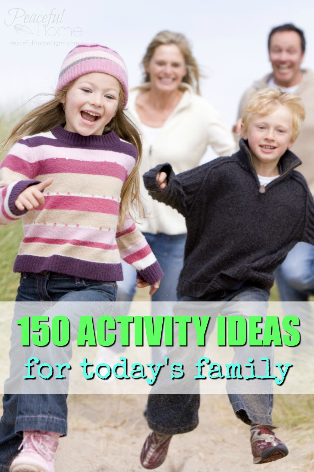 150 Activity Ideas for Today's Family | Screen Free Activities | Family Activities | Play as family | Stuff to Do With Kids | Weekend Activities | What to do with kids | Activities Outside | Teach kids about giving and serving