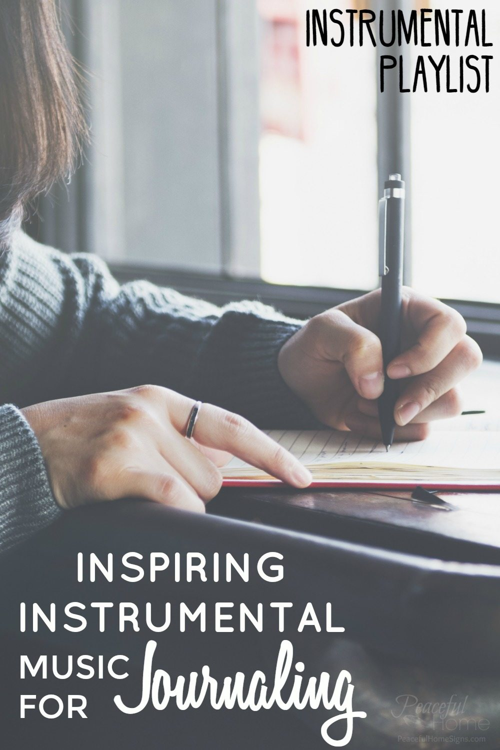 Journaling Playlist | Journal Time | Instrumental Playlist | Relaxing instrumental | Inspiring Music | Music to write to