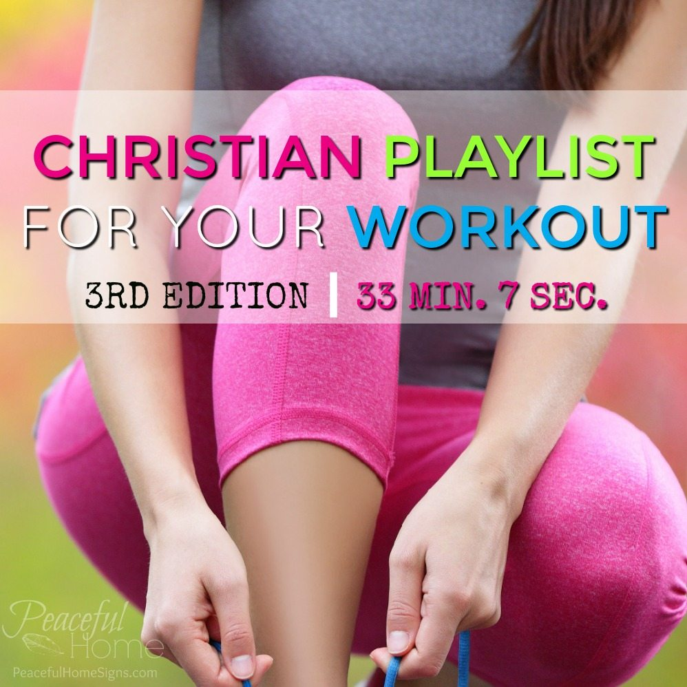 Christian Playlist for Your Workout