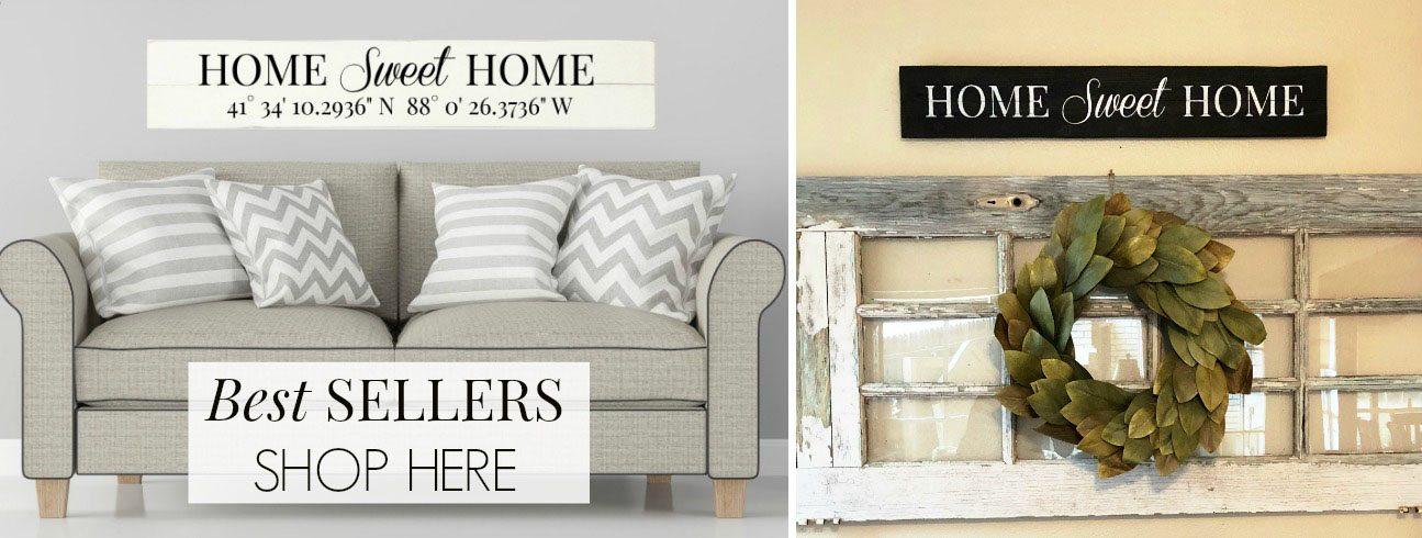 Best Selling | Reclaimed Wood Signs | Slider