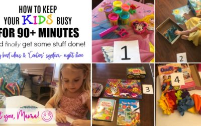 How to keep your kids busy for 90 minutes and finally get some stuff done